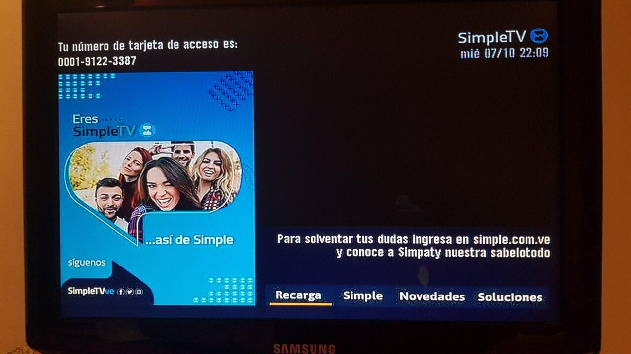 Simple TV extiende señal gratis hasta el 15 de diciembre